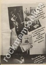 Wizzard Roy Wood The Move Eddie & The Falcons MM4 LP Advert 1974