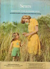 1975 Sears Summer Catalog - mod clothing, bicycles, swim suits,patio furniture