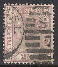 Great Britain Scott 67 Used Fine - 1875 2.5p Claret Issue Cat $75