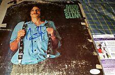 James Taylor Signed Mud Slide Slim Vinyl Album Cover in Person. JSA CERTIFIED