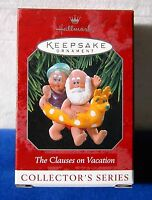 Hallmark Keepsake Christmas Ornament 1998 The Clauses On Vacation # 2 in series