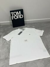Christian Dior White Cotton T-Shirt With Bee Emblem - Size XXL - RRP £330