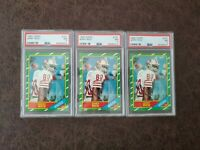 (1) 1986 Topps Jerry Rice rookie #161 PSA 7 - San Francisco 49ers Legend -Pick 1