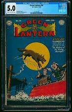 Green Lantern #36 CGC VG/FN 5.0 Cream To Off White Scarce!