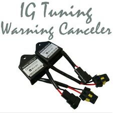 2 pcs Xenon HID Kit Error Warning Canceller Canbus Capacitors Computer Decoder