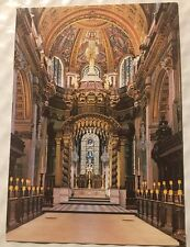 St Paul's Cathedral The High Altar Postcard Sir Christopher Wren Unposted