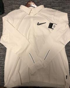 Unreleased Nike SuperBowl LIV Media Night White Button Up BQ9303-100 Mens XXL
