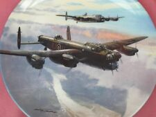 COALPORT EVENING SORTIE REACH FOR THE SKY RAF PLANE PLATE WORLD WAR II