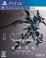 Japanese Edition Konami Ps4 Zone of The Enders Mars Regular Edition