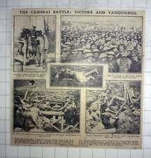 1917 The Cambrai Battle, Victors And Vanquished, Cheerful Men Of Ulster