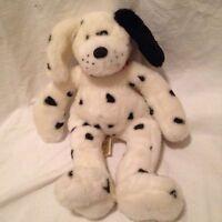 Build A Bear Spotted Dog Plush Black & White Dalmation Stuffed Animal