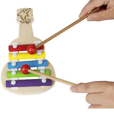 Toy Tunes Xylophone Wooden Metal Key Xylophone Musical Instrument Toy Kid's Orff