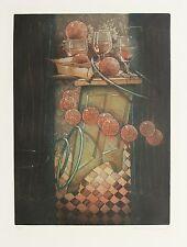 """Reinhard Zado, """"Bühnenstück, 1993 Radierung, handsigniert"""