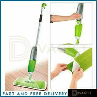 750ml Spray Mop Water Spraying Floor Cleaner Tiles Microfibre Marble Kitchen