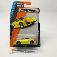 '14 Porsche Cayman #1 * Yellow * Matchbox * JD5