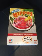 B17) Vintage 2005 Travel Size HUNGRY HUNGRY HIPPOS Game by Milton Bradley