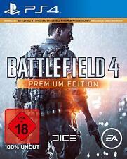 PS4 Spiel Battlefield 4 Premium Edition inkl Premiummitgliedschaft & 5 DLC´s NEU