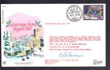 Christmas - RAF Aviation Biggin Hill 1986 Signed Cover