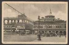 Peru Postcard Lima Club De La Union Tramway & Automobiles