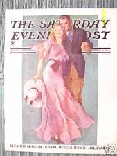 SATURDAY EVENING POST 1934 JOHN La GATTA  NRA  CHICAGO