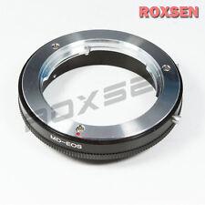 Macro Minolta Md Mc mount Lens to Canon Eos Ef Adapter 650D 5D Iii 6D 70D 700D