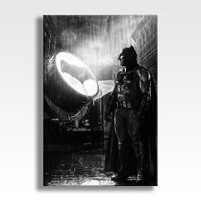 "BATMAN CANVAS DC Marvel Suicide Squad Justice League Poster Art 30""x20"" CANVAS"