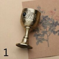 Copper Tarot Chalice Wine Goblet Cups Wicca Altar Retro Divination Home Decor