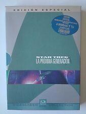 STAR TREK LA PROXIMA GENERACIÓN - 2 DVD -  ED. ESPECIAL CON EXTRAS CASTELLANO