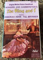 """The King and I"" Original Motion Picture Soundtrack CASSETTE 
