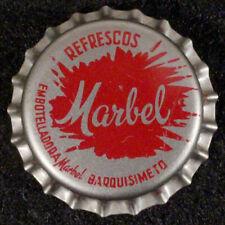 REFRESCOS MARBEL CORK SODA BOTTLE CAP CROWN BARQUISIMETO LARA VENEZUELA ARBELAEZ