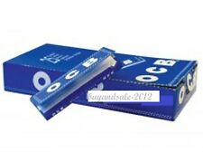 OCB blue box of 25 pieces x 50 sheets= 1250 Cigarette Tobacco Rolling Papers