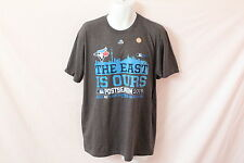 Men's Majestic MLB Toronto Blue Jays Grey Tee - SIze L