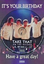 Take That - Themed Happy Birthday Card & DVD Documentary Film
