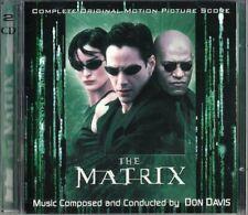 SC - 2CD THE MATRIX (Complete Original Motion Picture Score) Don Davis