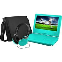 "Ematic EPD909TL EPD909 Portable DVD Player - 9"" Display - 640 x 234 - Teal"