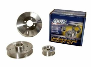 1996-2000 Ford Mustang GT 4.6L BBK 3 Piece Underdrive Pulley Kit Free Shipping