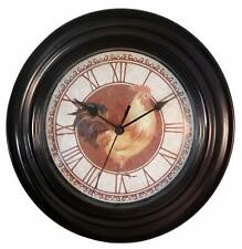 "12"" Kitchen Wall Clock Rooster"
