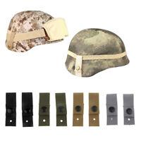 2pcs Universal Goggle Retention Straps for MICH M88 ACH SDS PASGT Helmet