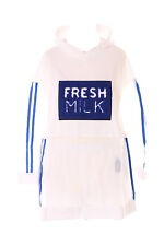TP-140 Blue White Shorts Long Sleeve Hooded Shirt Set Transparent Harajuku