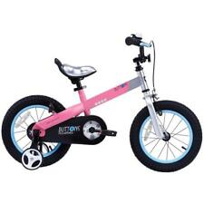 Matte Pink Hydroformed Aluminum Frame Buttons Kids Bike with 18 in. Wheels