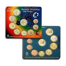2010 SPAGNA 9 monete euro espagne spanien espana spain