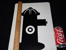 """UNIQUE Group of 9 Firefighter Related Identification Flashcards LARGE 18"""" x 12"""""""