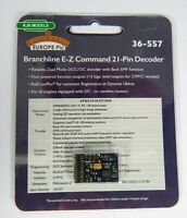 BNIB Bachmann 36-557 21 Pin 1 Amp 4 Func DCC Decoder (DC Compatible) For OO Loco