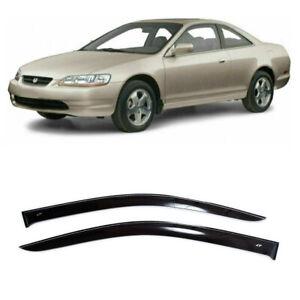 For Honda Accord Coupe 1998-2002 Window Side Visors Rain Guard Vent Deflectors
