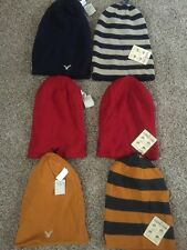 NWT Mens AMERICAN EAGLE  Reversible Beanie Hat