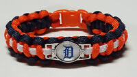 Detroit Tigers Paracord Bracelet or Lanyard or Deluxe Key Chain - See Ad