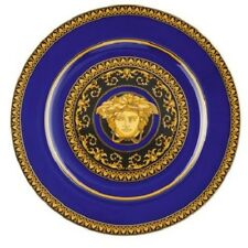 ROSENTHAL VERSACE MEDUSA BLUE PLATE 30CM W/ AUTHENTICITY CARD RRP$569