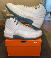 Nike Air Jordan 12 XII University Blue White Melo 8.5Y GS Retro 510815-127 GG 1