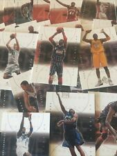 2001-2002 SP Authentic Upper Deck Basketball Cards 1-100 PYC! Free Shipping Hot!