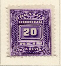 Brazil 1906 Early Issue Fine Mint Hinged 20r. NW-16951